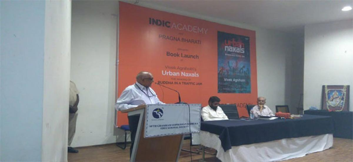 Book on urban Maoism released