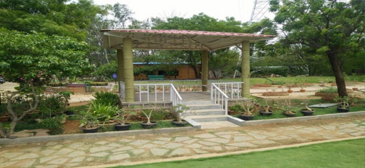 Botanical Garden ready for inauguration by KCR