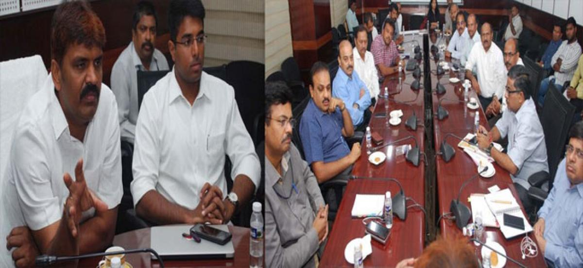 Actions against illegal dumping of construction wastage