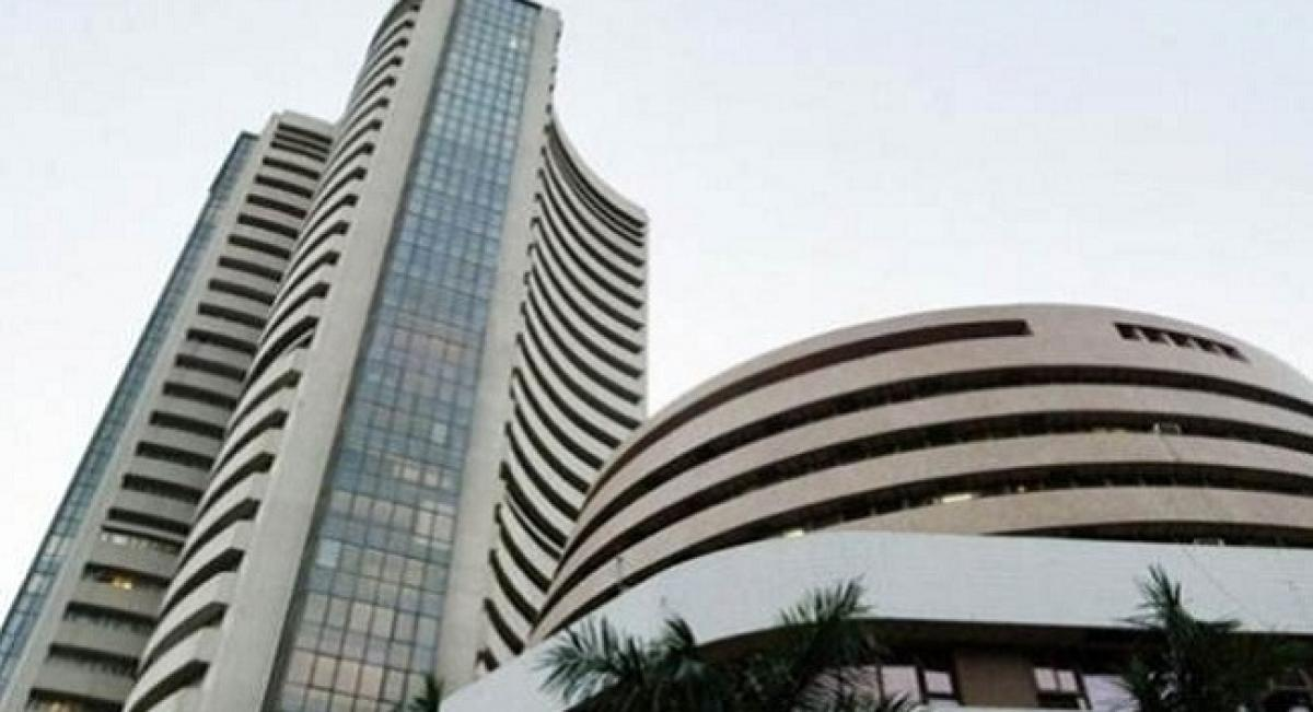 Sensex reclaims 34,000, bounces 444 points on easing crude price