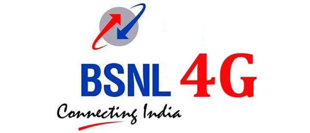 BSNL to launch 4G services in Telangana