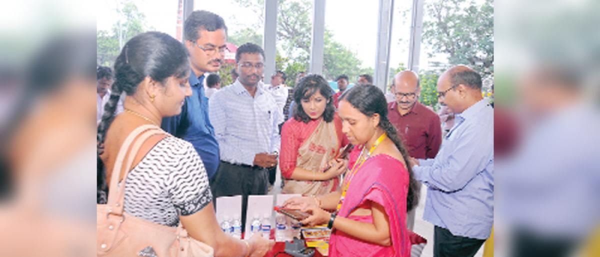 Digital transactions on the rise: BSNL GM B Ravi Kumar