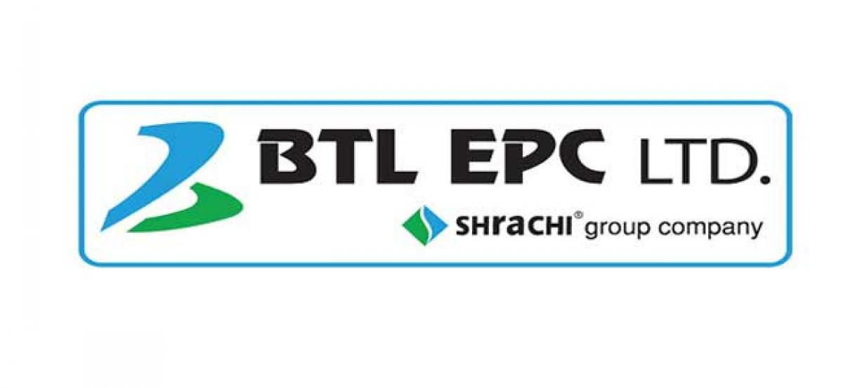 Kolkata-based BTL EPC Ltd., an Arm of the Shrachi Group, is expanding footprints on EPC Pan India