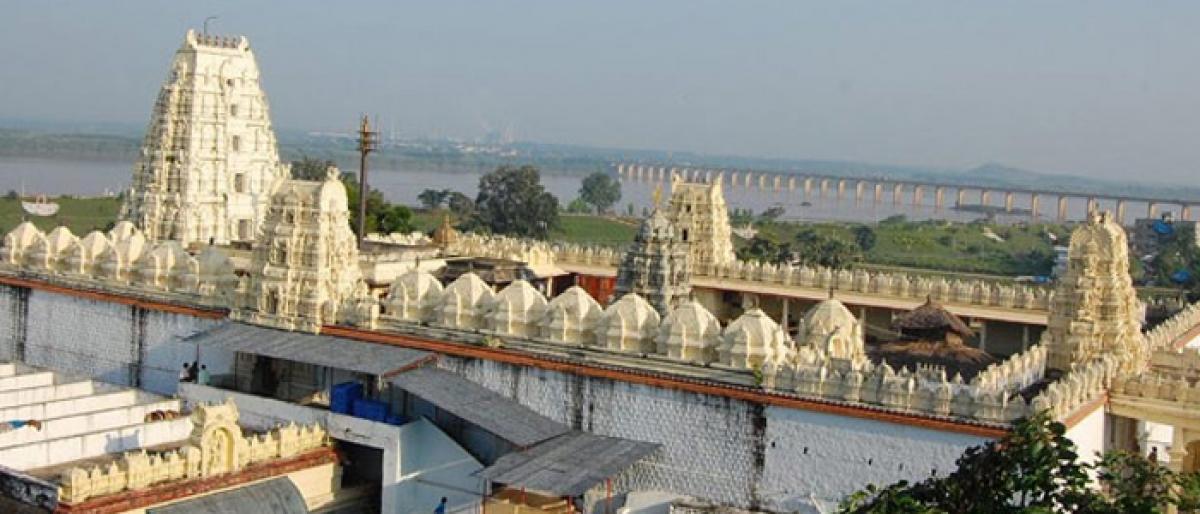 Bhadradri temple superintendent suspended