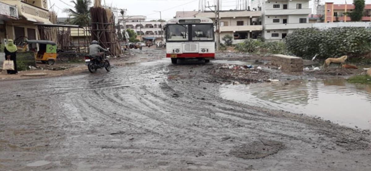 Chintala, Mynampalli visit rain-affected Bharat Nagar