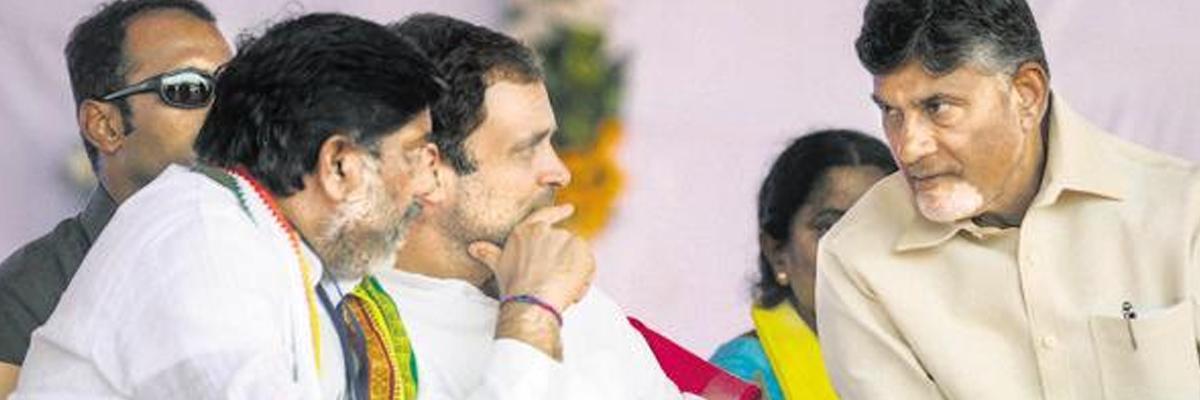 Real snub to Naidu, Congress