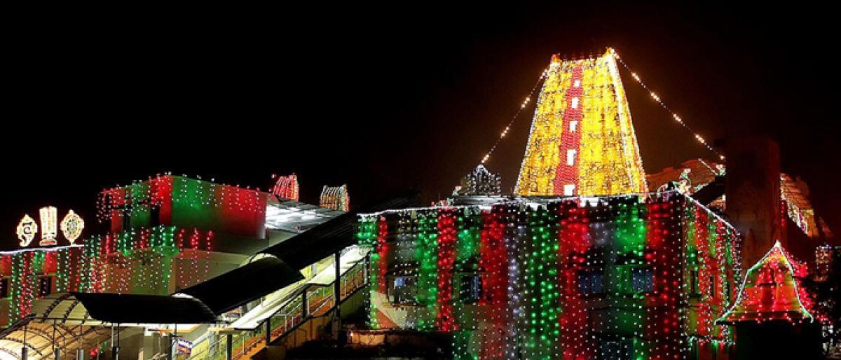Adhyanotsavalu begin at Bhadradri temple