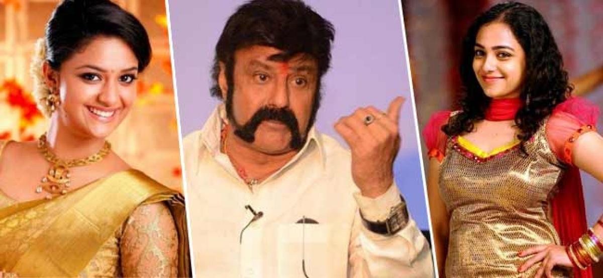 Balakrishna Ignores Keerthy Suresh, Gets Nithya On Board