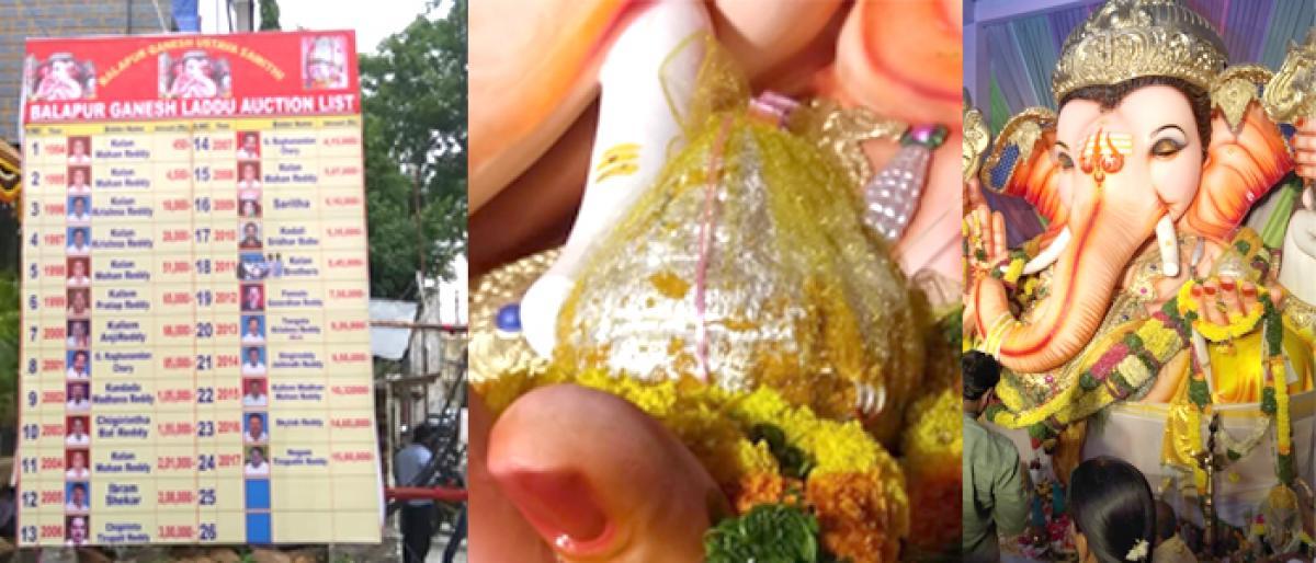 Balapur Laddu auction enters silver jubilee year