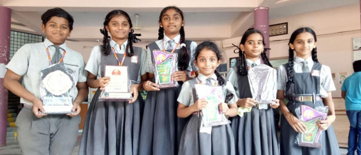 Harvest students bag prizes at Balotsav-2017