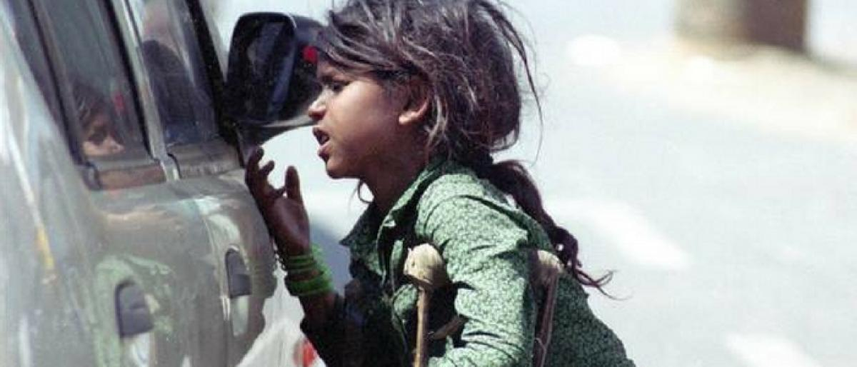 Special drive to curb child begging