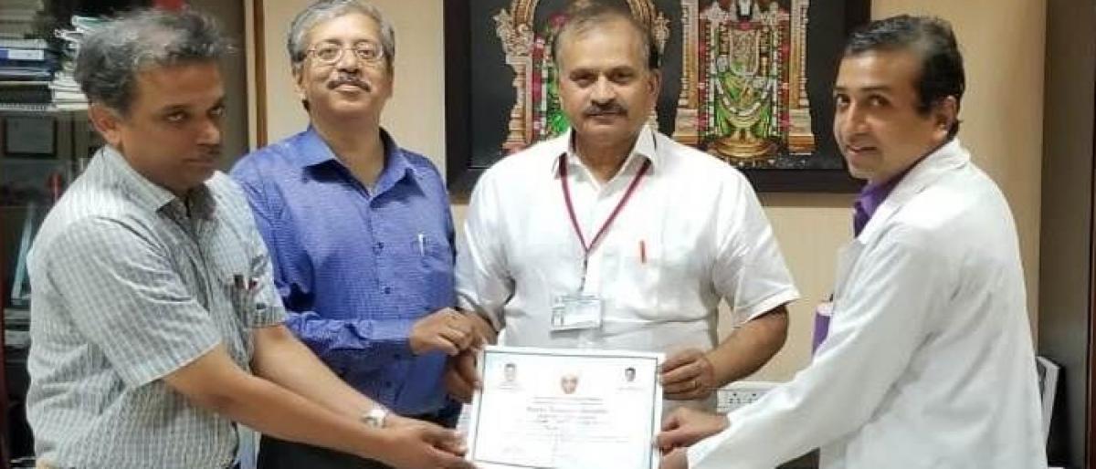 SVIMS gets 3 State Best Teacher awards