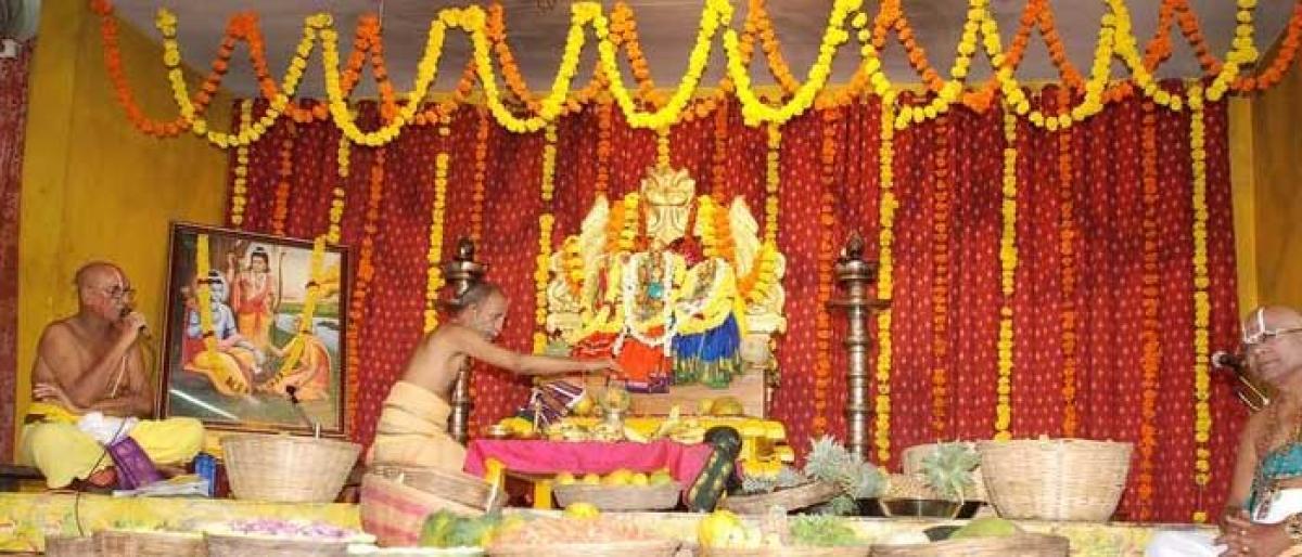 Tribals take out Sabari Yatra in Bhadradri temple