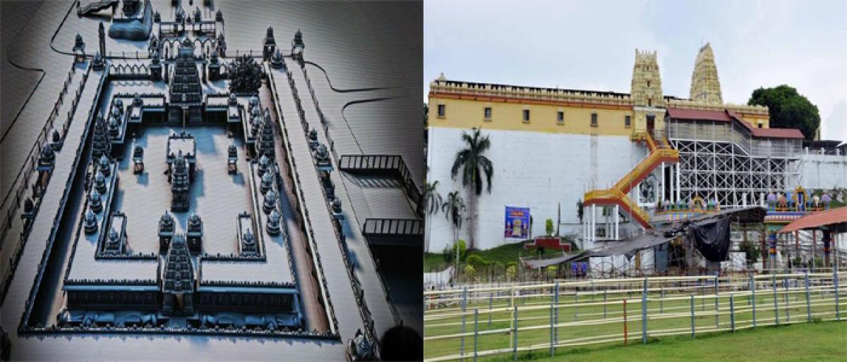 Bhadradri temple renovation works to start soon