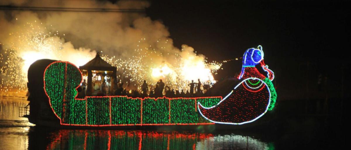 Bhadradri float festival enthralls all