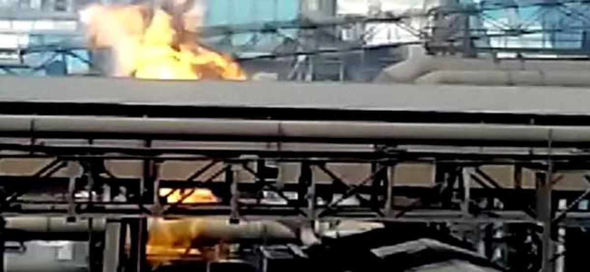 Bhilai Steel Plant blast in Chhattisgarh