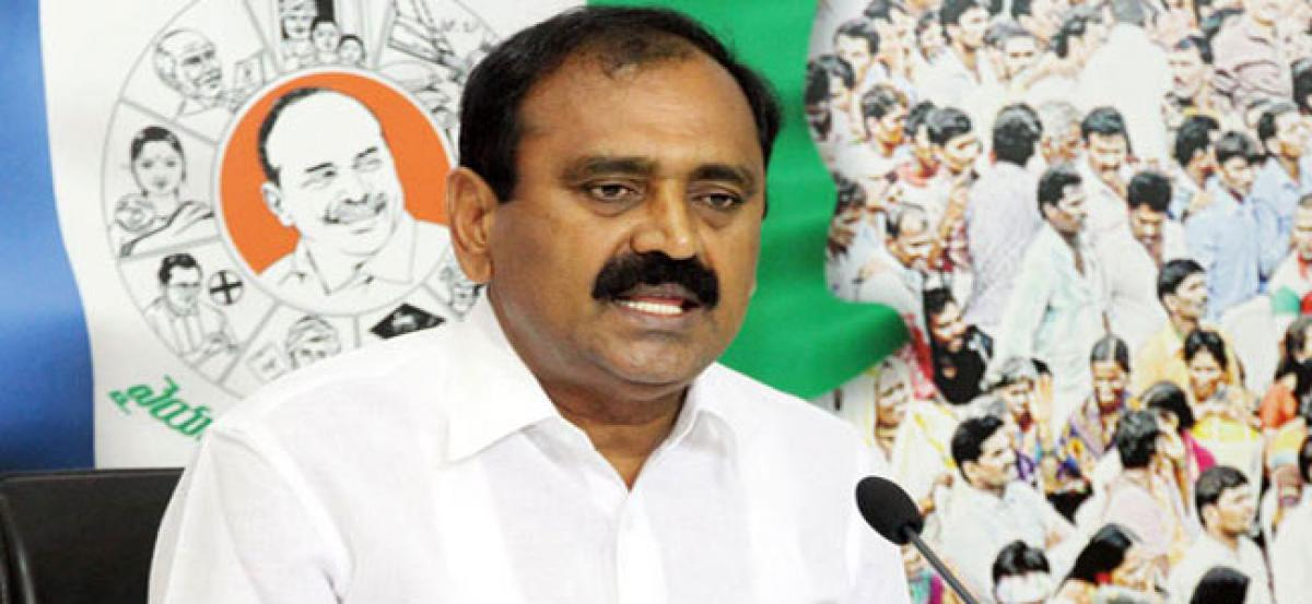YSRCP dares Chandrababu for open debate