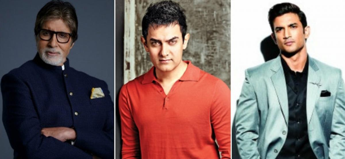 Big B, Aamir, Sushant in best actor race at IFFM