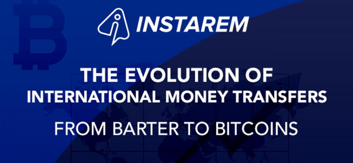 From Barter to Bitcoins: The Evolution of Money Transfers – Info-graphic by InstaReM
