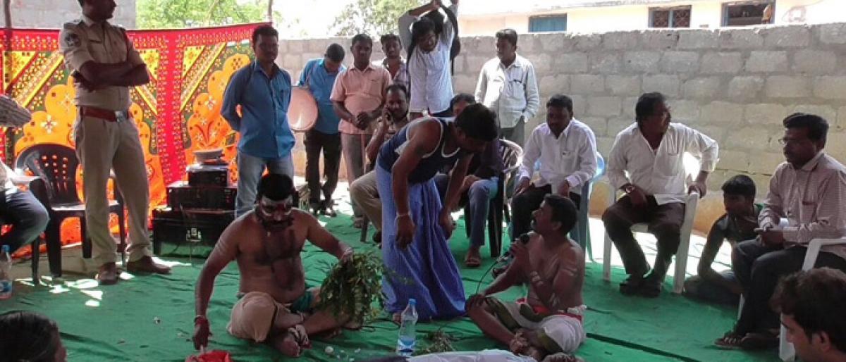 Awareness programme against superstition held