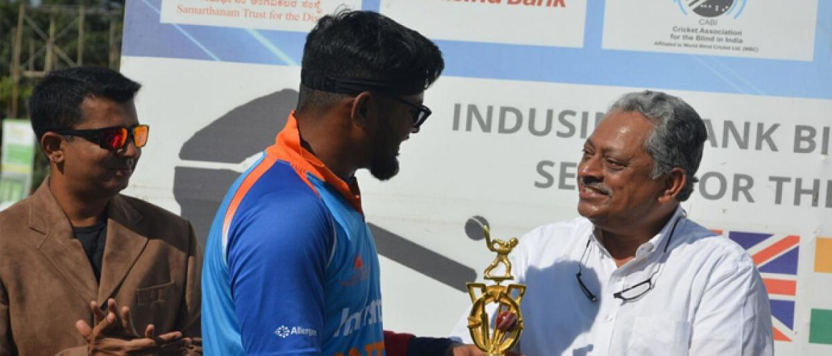 India clinch series on Ajay Reddy's heroics