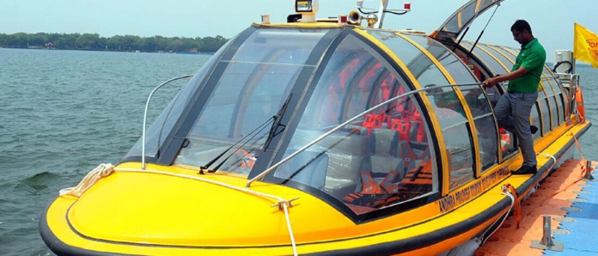 Hi-tech Chinese boats to ferry tourists to Bhavani Island