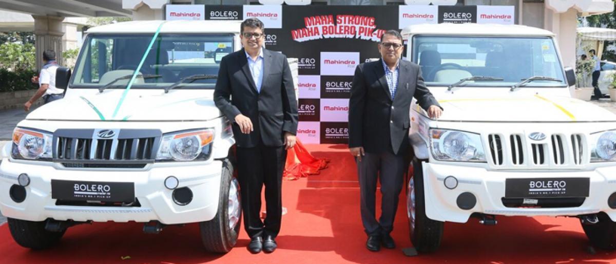 Mahindra upgrades Bolero pick-up