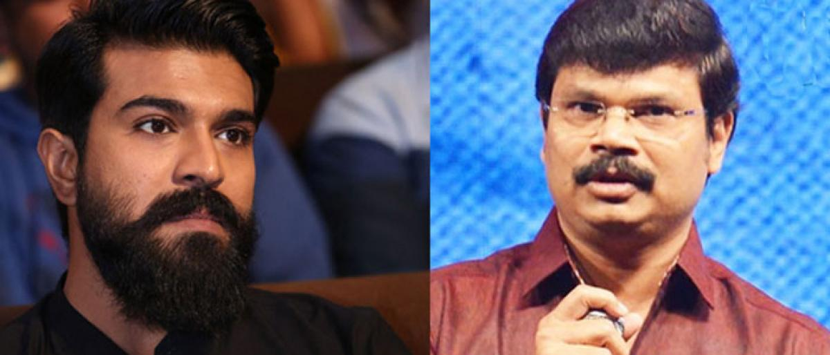 Boyapati Disappointed With Ram Charan?