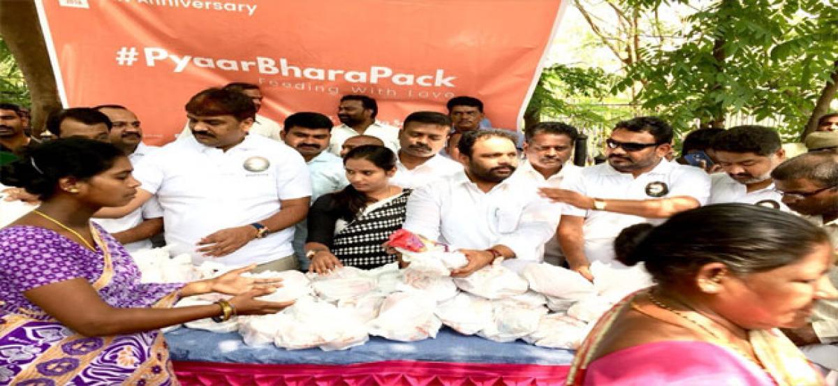 Fruit distribution programme for cancer patients