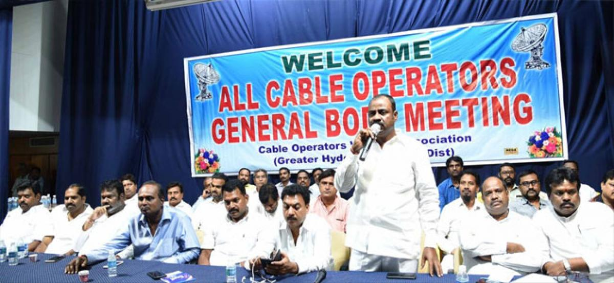 Cable operators demand removal of GST