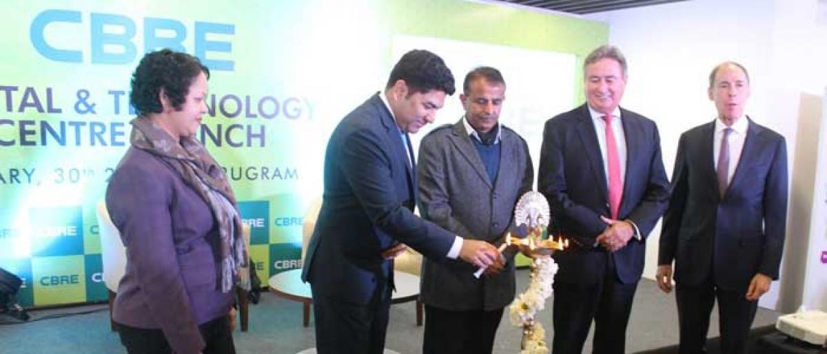 CBRE opens tech centre