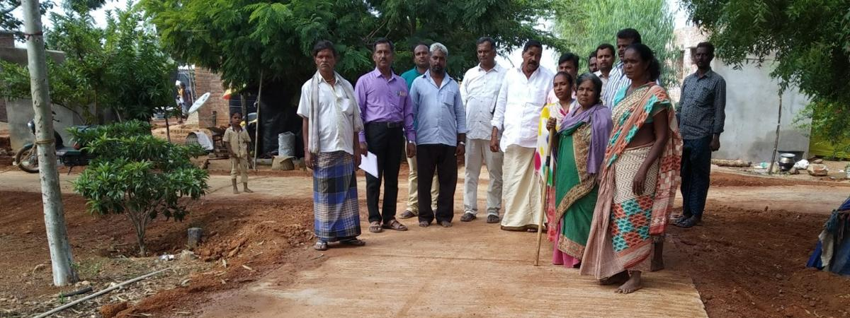 Chittoor district to top the nation in laying Cement Concrete roads