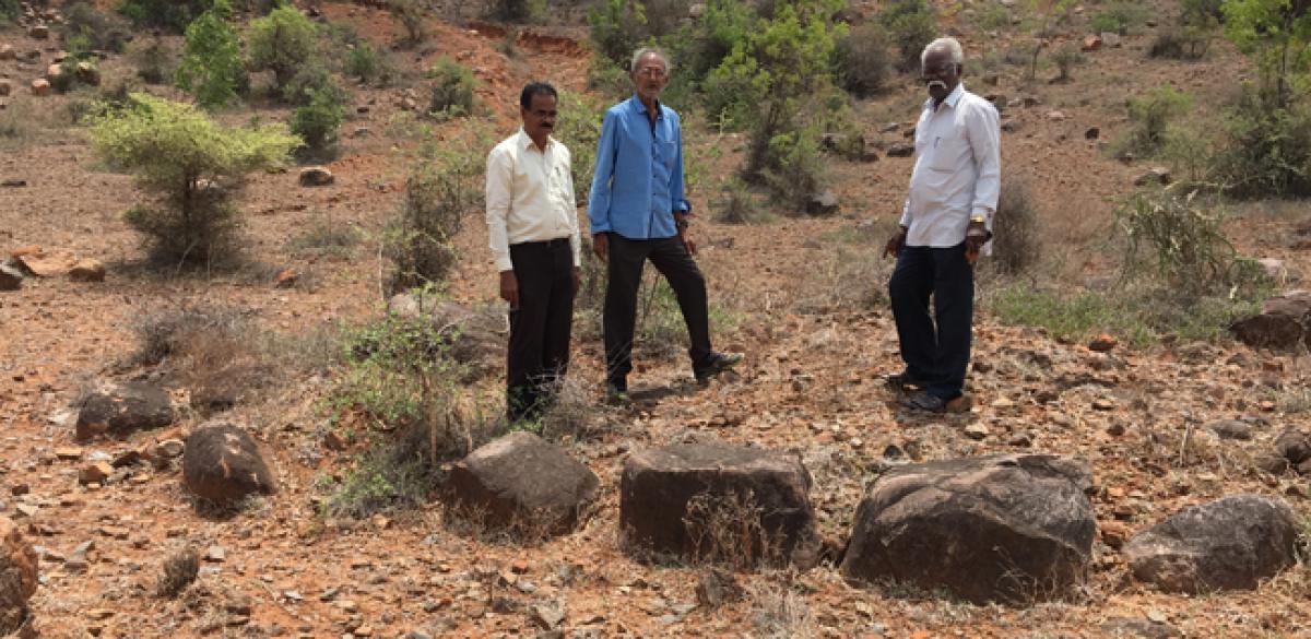 Historians rue erasing of historical Iron Age evidences in Addanki