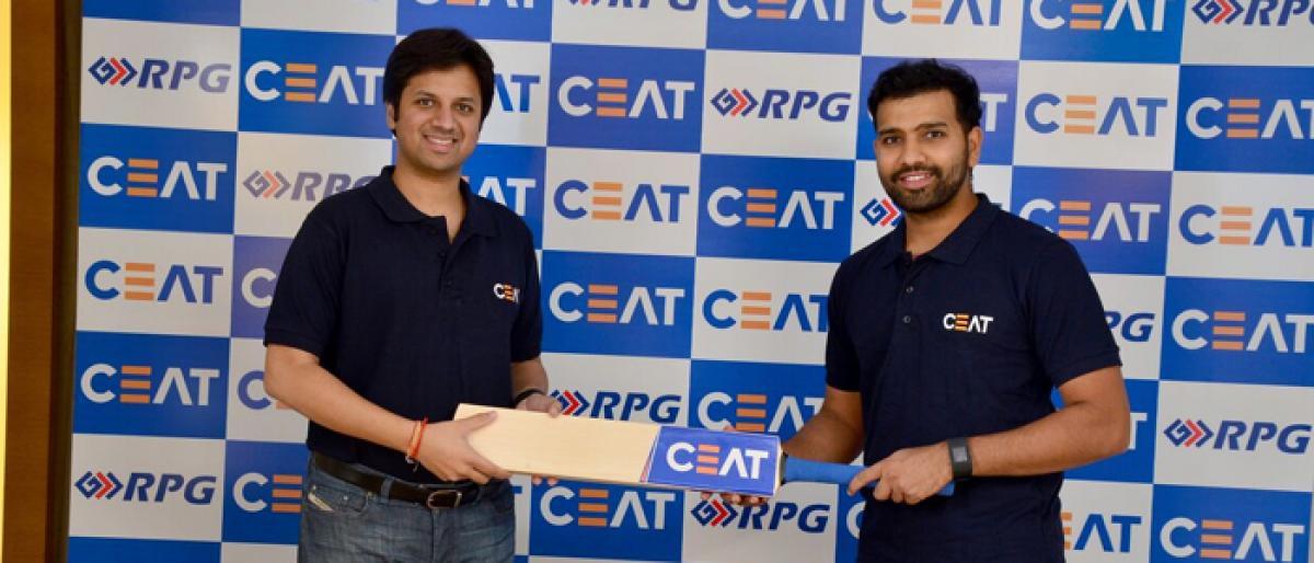 CEAT, Rohit Sharma continue partnership