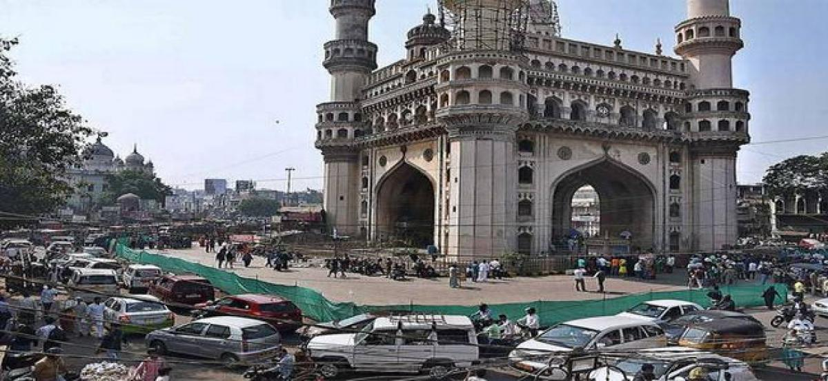 Old City motorists elated over parking at Charminar
