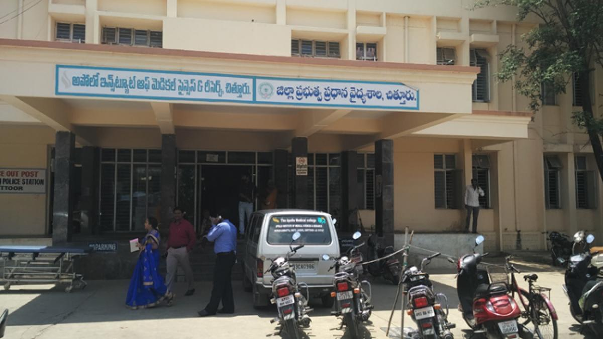 Shifting of govt hospital to Madanapalle opposed