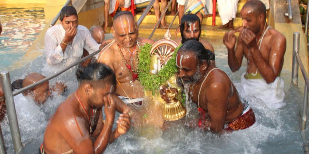 Religious fervour marks Ananta Padmanabha Vratam