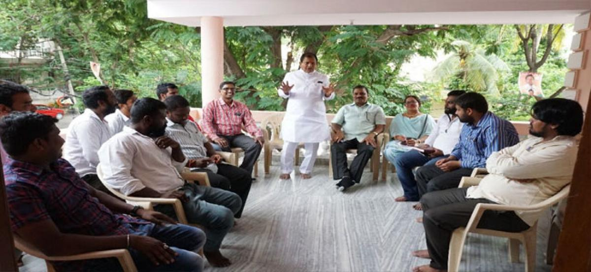 Chintala asks BJYM activists to form booth panels