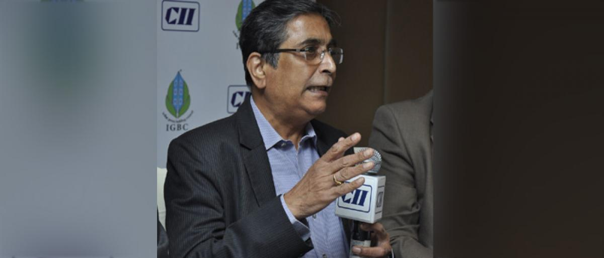 CII pegs green building products mkt at Rs 18 lakh cr