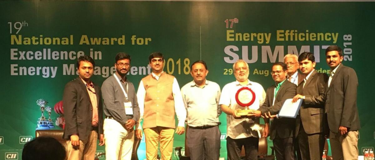 Hyderabad airport wins CII award