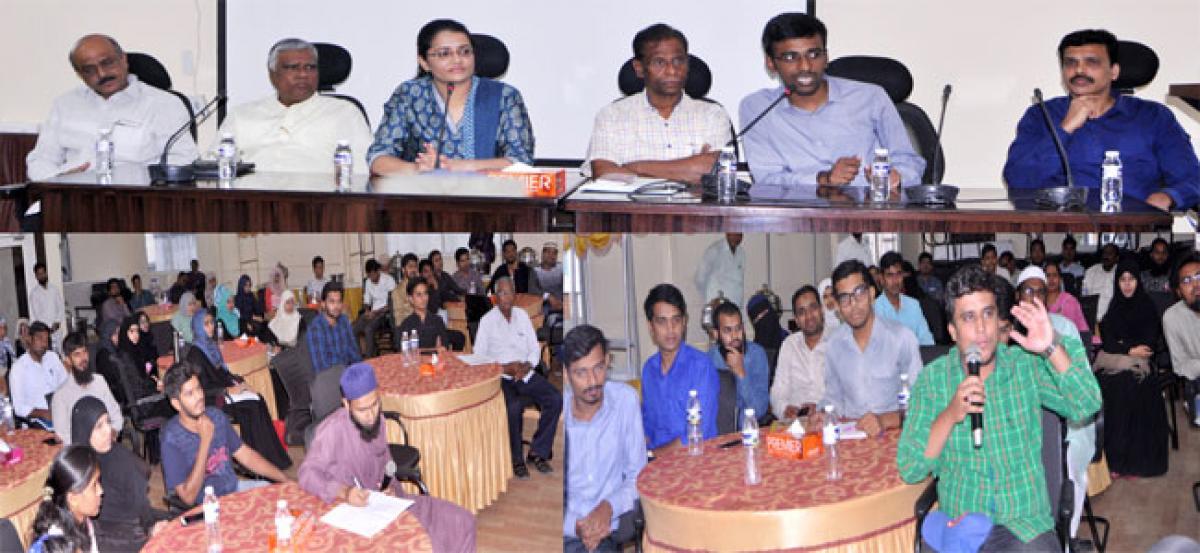 Interactive session held for civil services aspirants