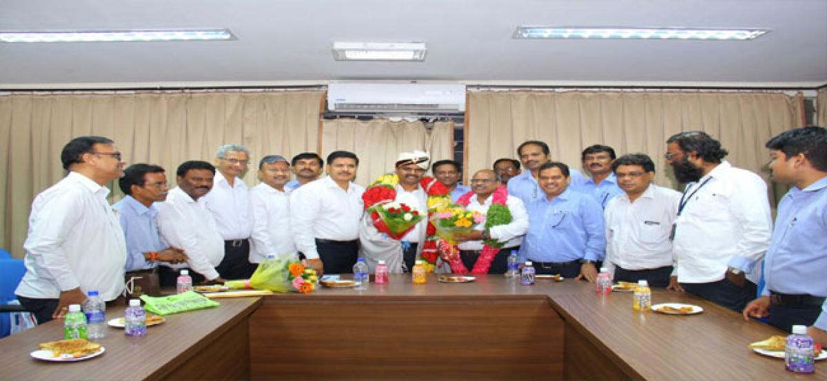 Grand farewell to CIPET former director
