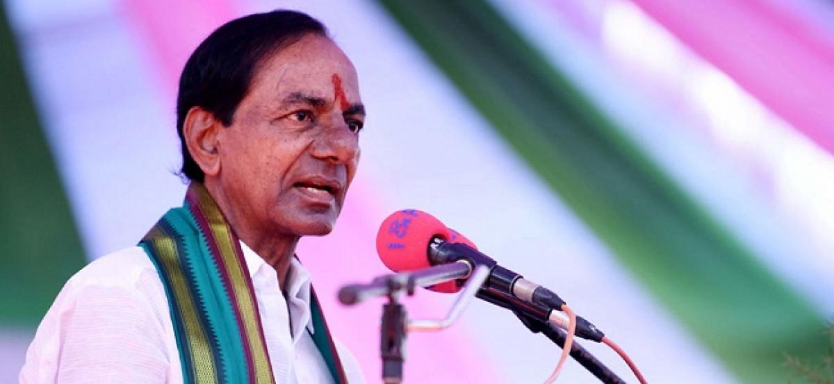 KCR to address 6 public meetings in two days