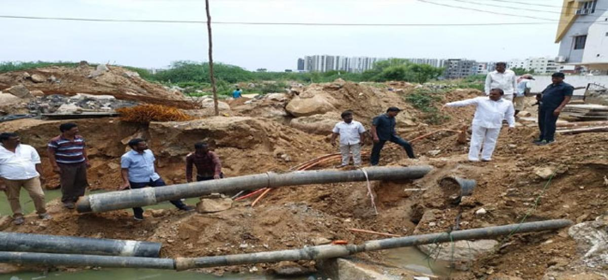 Officials instructed to complete Manjeera works