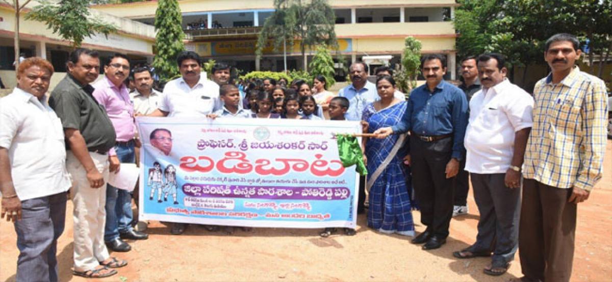 Collector participates in Badibaata programme