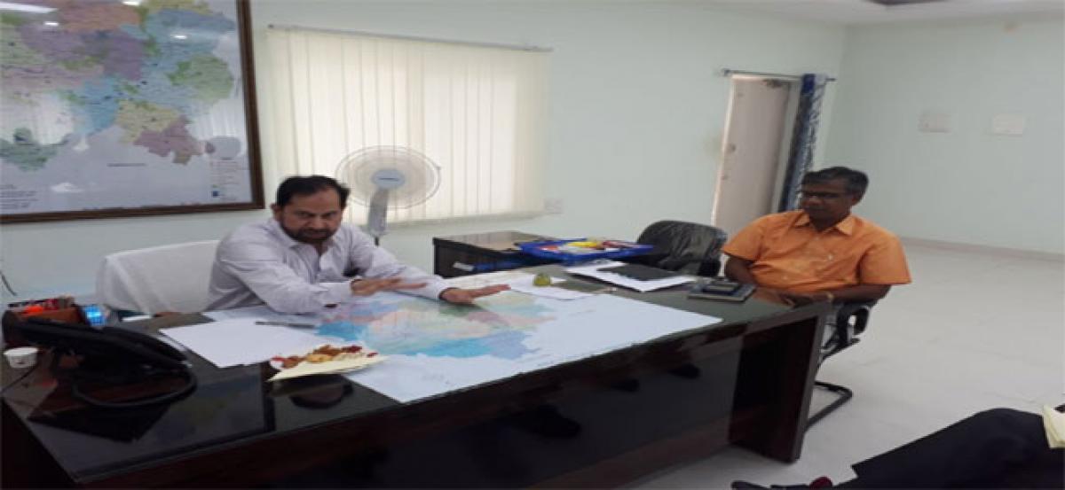 Vikarabad Collector holds meeting on various welfare schemes