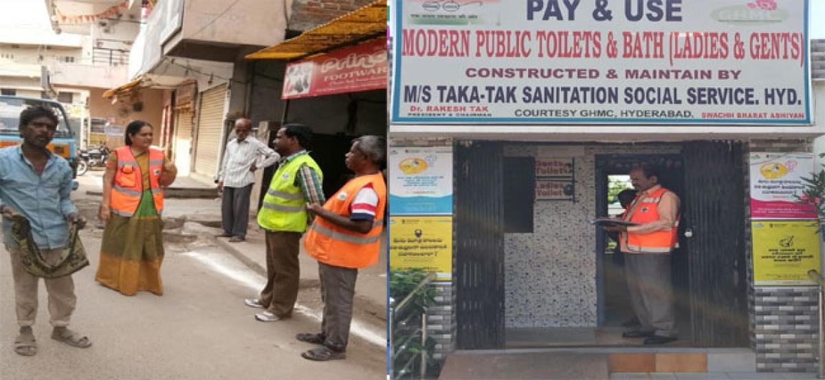 Municipal officials inspect colonies