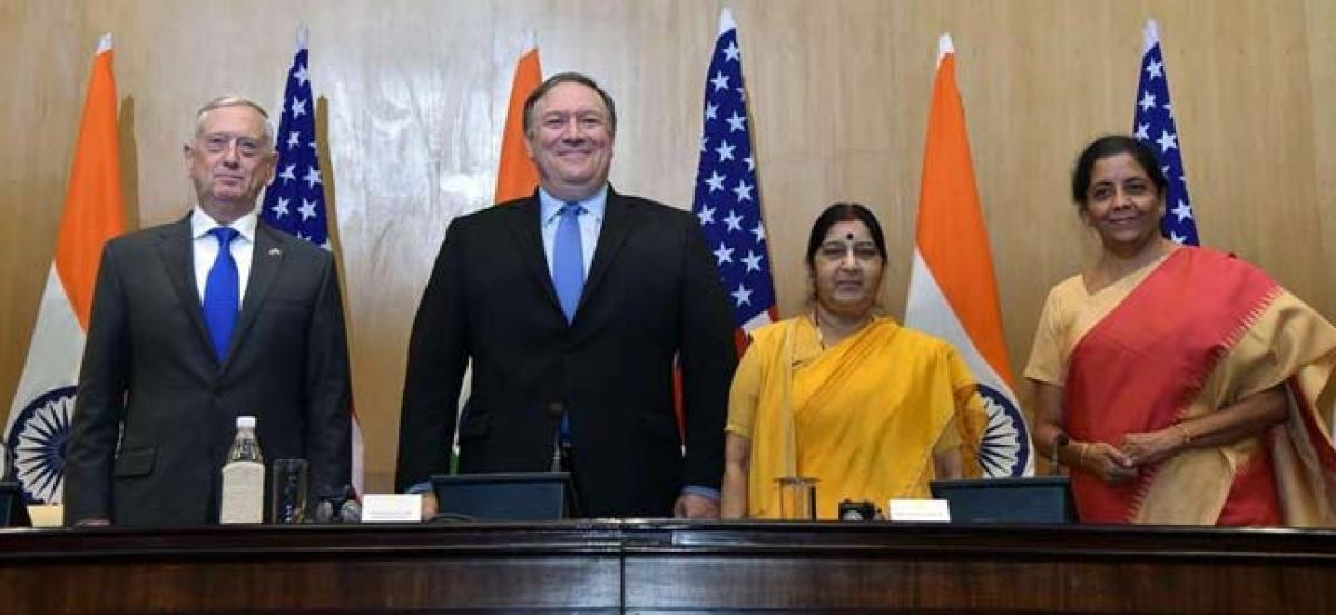 COMCASA is a landmark step for Indo-US relationship: American business advocacy group