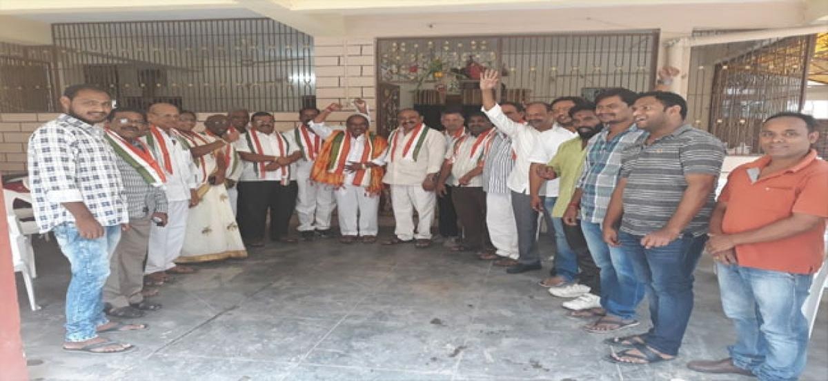 Cong leaders call for strengthening party