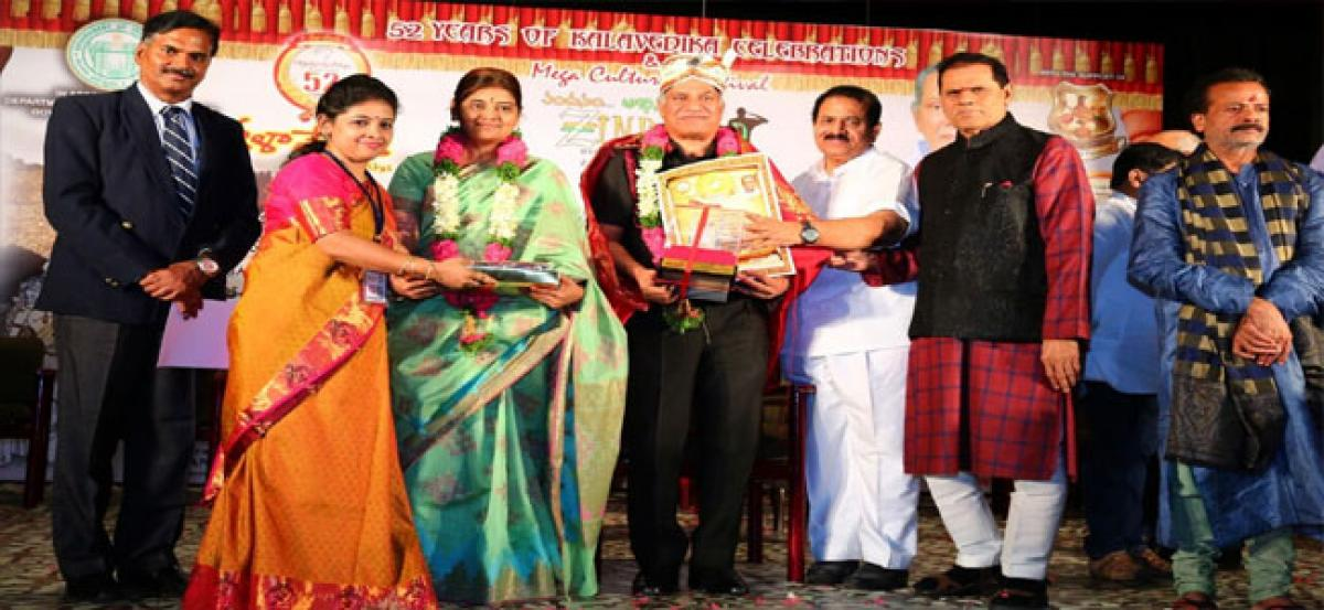Major General couple felicitated